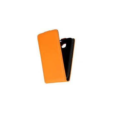 KABURA SLIM PIONOWA LG F70 pomarańcz