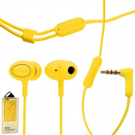 SŁUCHAWKI REMAX RM-515 żółte
