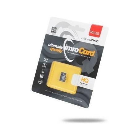 KARTA MICRO SD IMRO 16 GB 10 CL bez adaptera