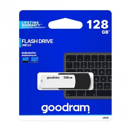 PENDRIVE GOODRAM 128GB USB 2.0 UC02 BIAŁO - CZARNY