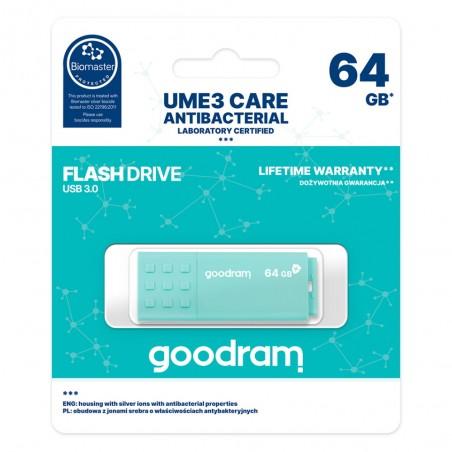 PENDRIVE GOODRAM 64GB USB 3.0 UME3 jasnozielony AKKSGPENGOO00018
