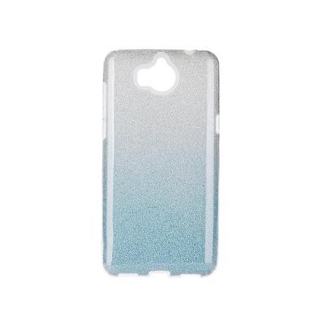 FUTERAŁ SHINING XIAOMI REDMI 10 transparent-niebieski